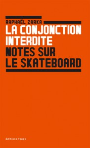 Raphaël Zarka - La conjonction interdite. Notes sur le skateboard.