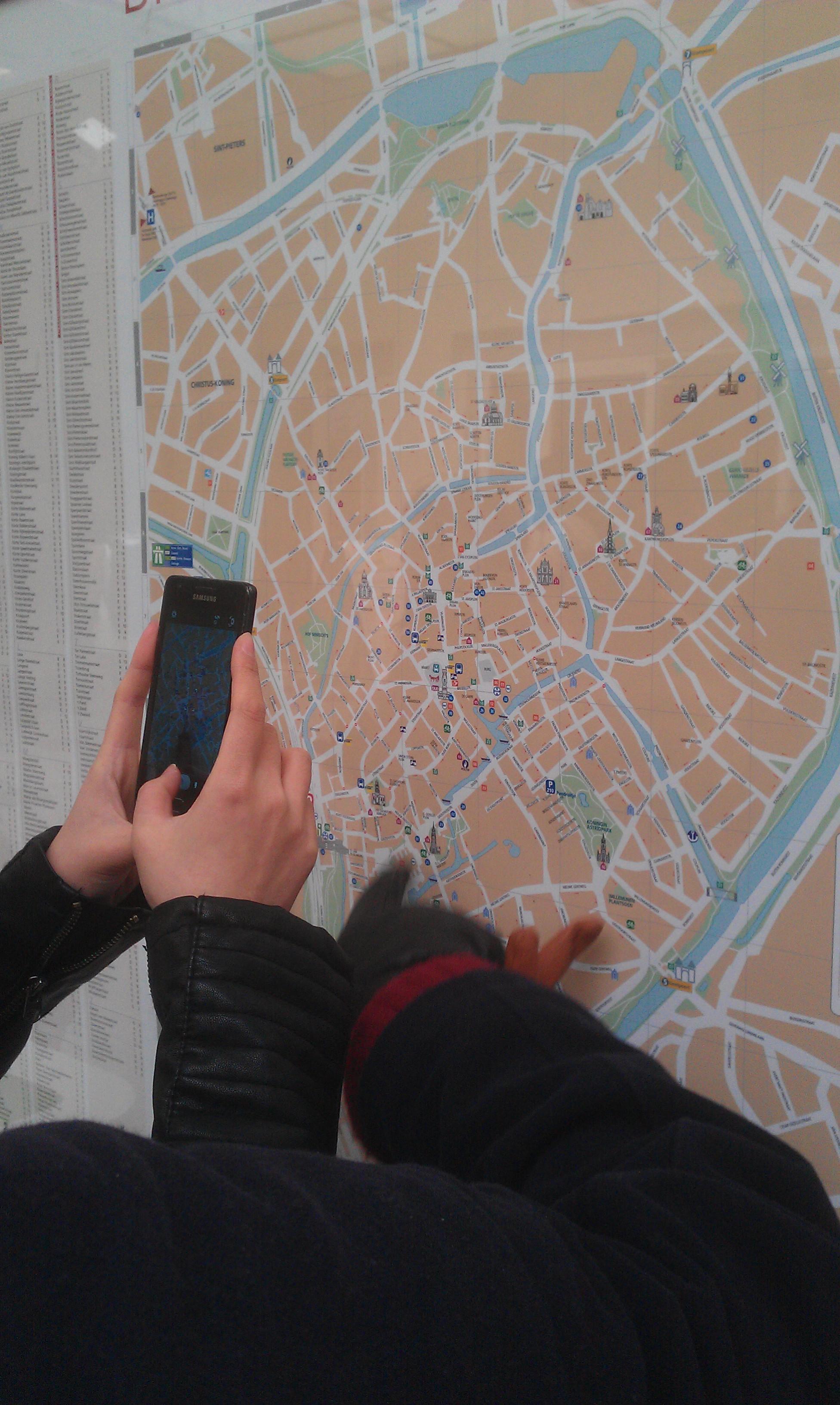 Vu à Bruges - Janvier 2013