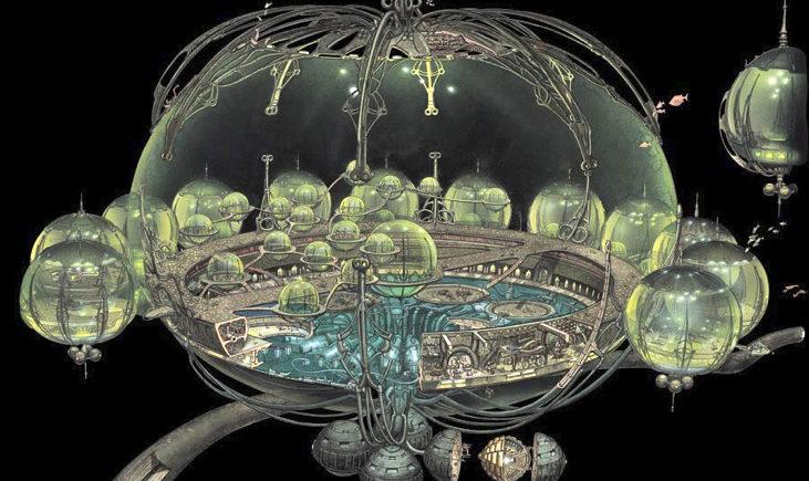 Otoh Gunga (Star Wars) - underwater city
