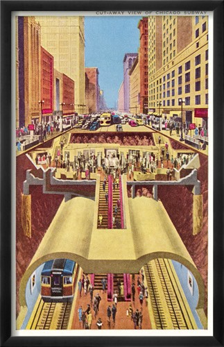 State St. Subway Chicago (1941)