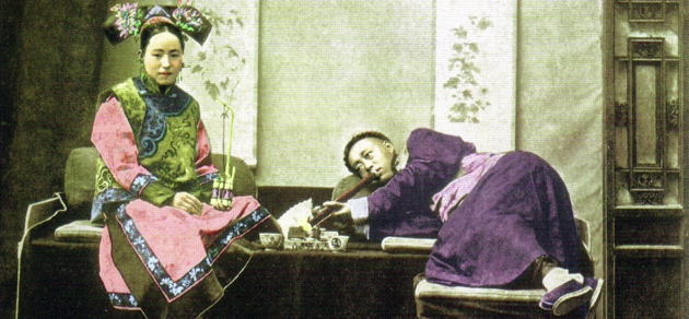 Fumerie d'Opium (Chine)