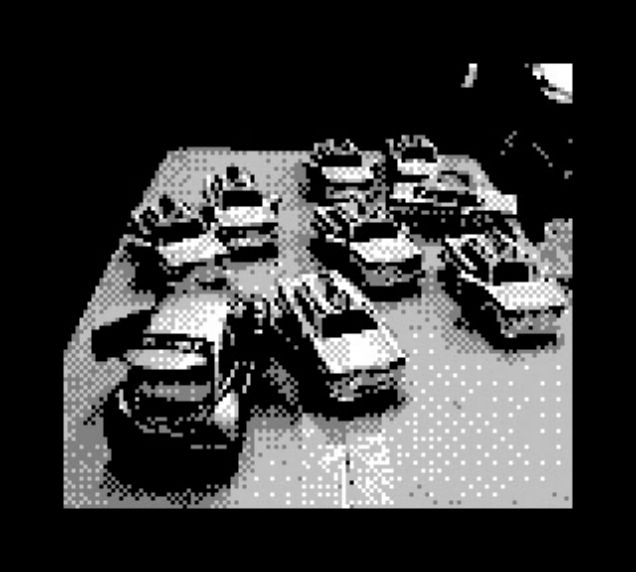 Parking - NYC - Game Boy Cam