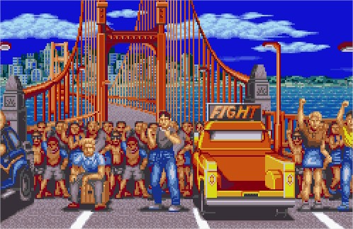 Southtown from Fatal Fury,...