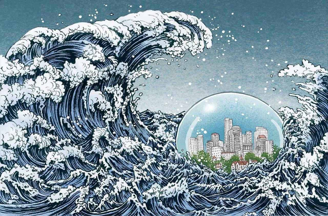Dans le futur, j'habiterai dans ma bulle
