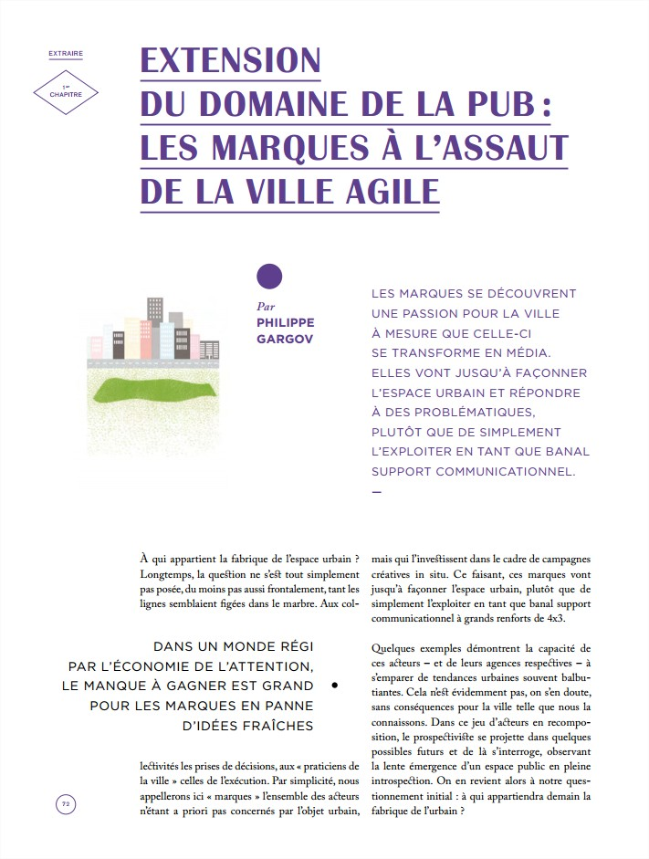 Influencia - pop-up urbain : Les marques à l'assaut de la ville agile