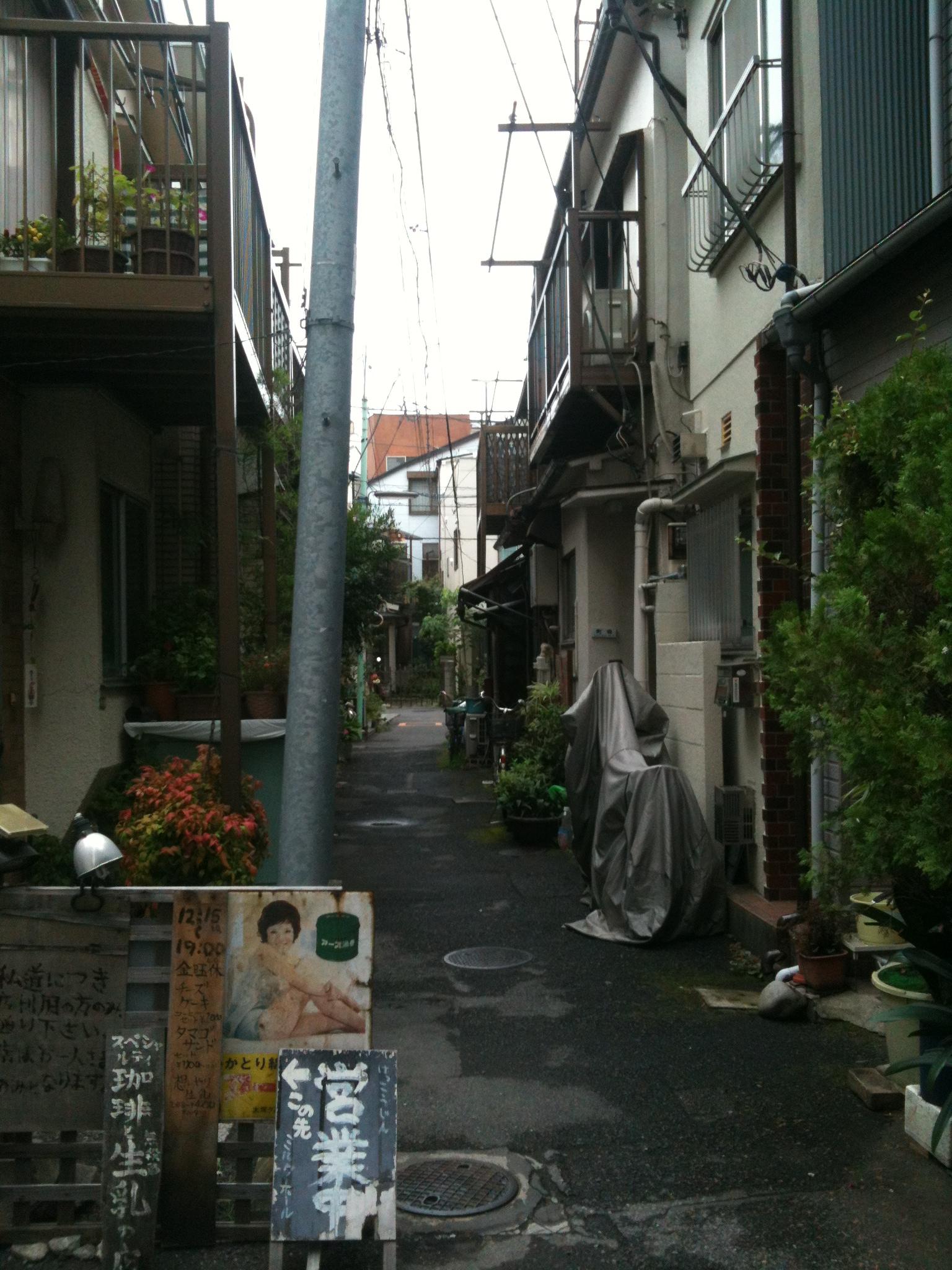 radiographie de la rue japonaise 1 2 pop up urbain. Black Bedroom Furniture Sets. Home Design Ideas