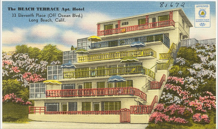 Manor House Apt. Motel, 1700 E. Ocean Blvd. (Corner 11th place), Long Beach, Calif.  Flickr - Photo Sharing! - Google Chrome