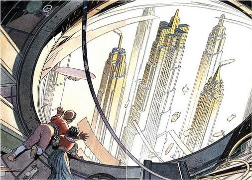 Twitter  Oniropolis  from 'Les Cités obscures' by Schuiten et Peeters - Google Chrome