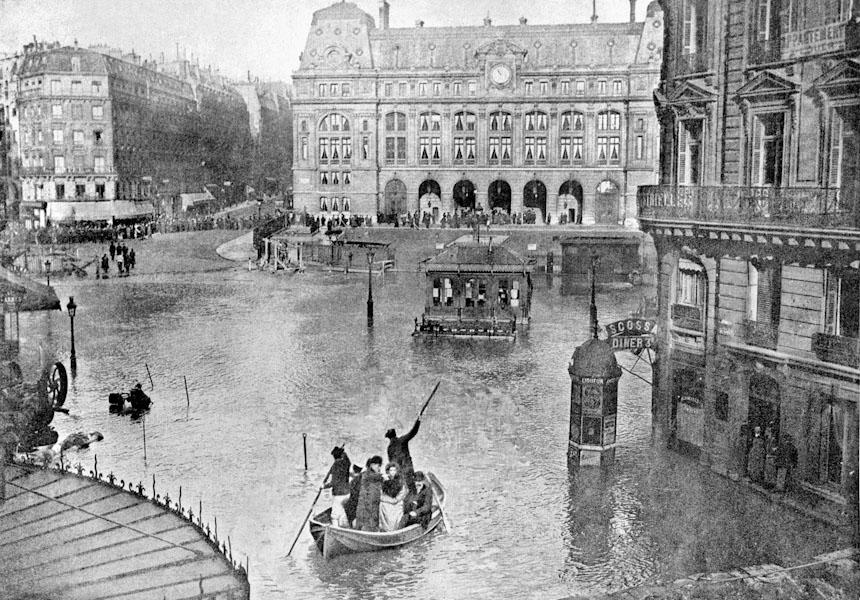 FRANCE-GREAT FLOOD-HISTORY-PARIS