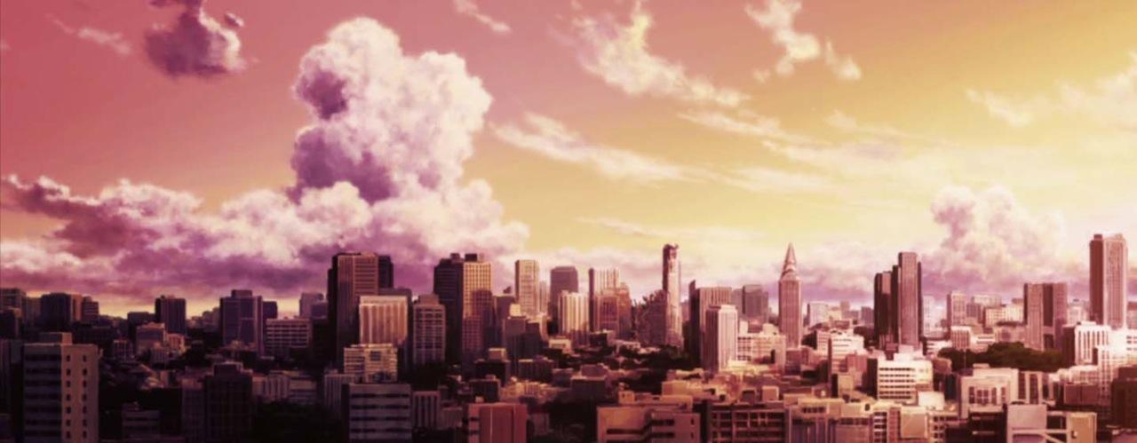 1-ville japonaise dessinée