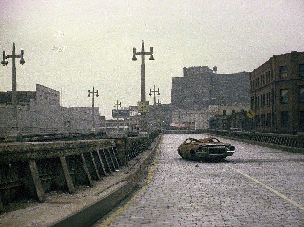 The West Side Highway, New York City, 1975