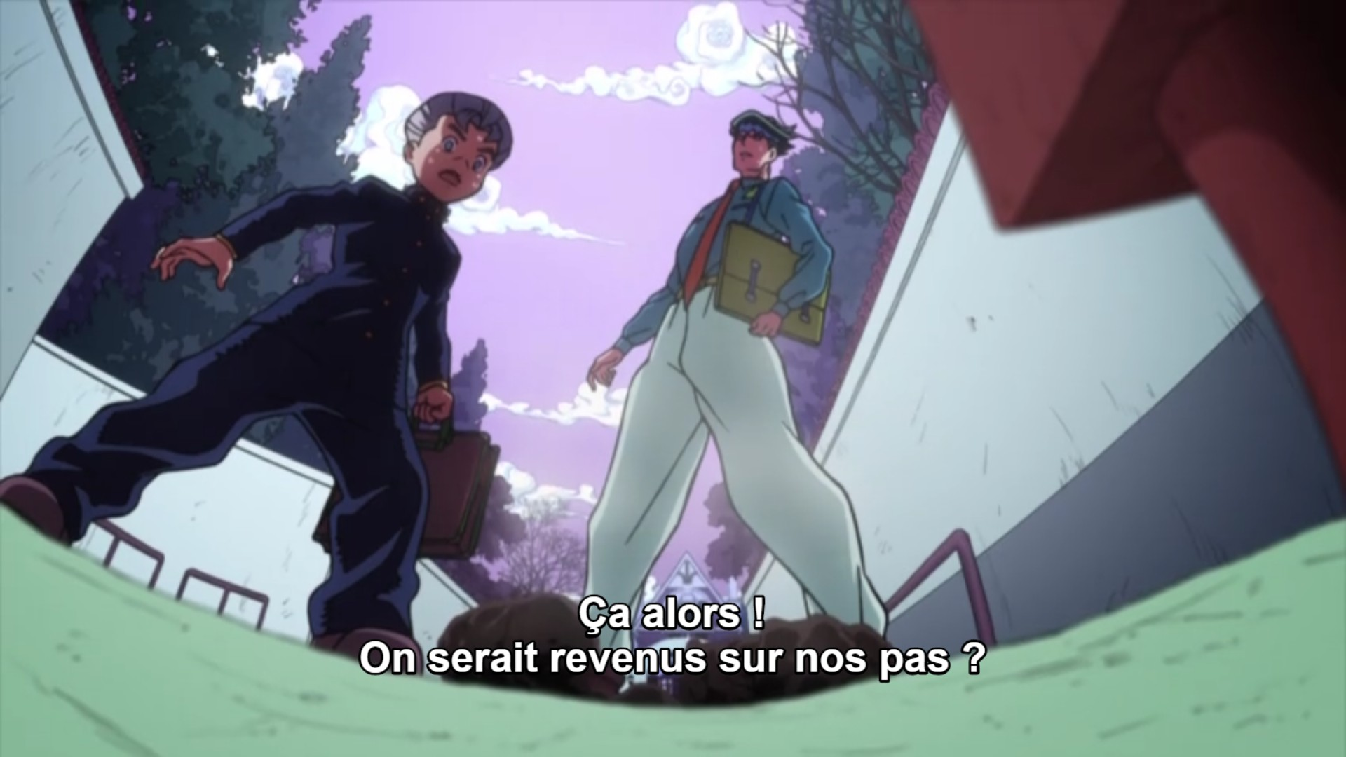 Jojo's Bizarre Adventure Saison 3 Diamond is Unbreakable - Épisode 17 - streaming - VOSTFR - ADN - Google Chrome_30