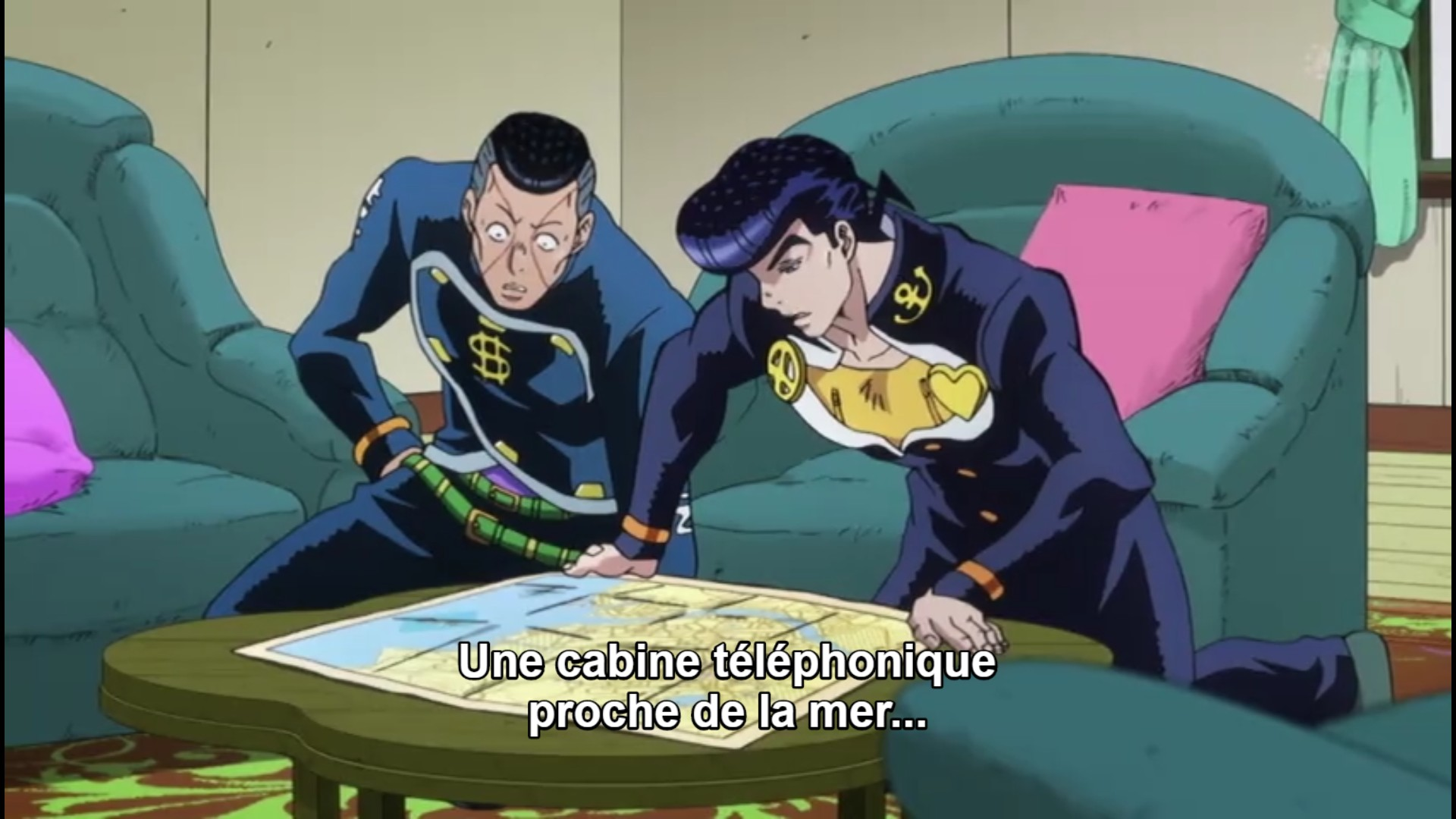 Jojo's Bizarre Adventure Saison 3 Diamond is Unbreakable - Épisode 9 - streaming - VOSTFR - ADN - Google Chrome_31