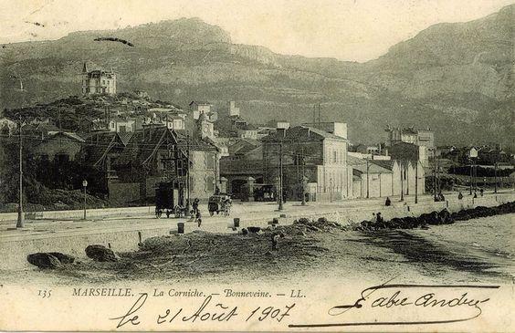 La corniche Bonneveine 1907