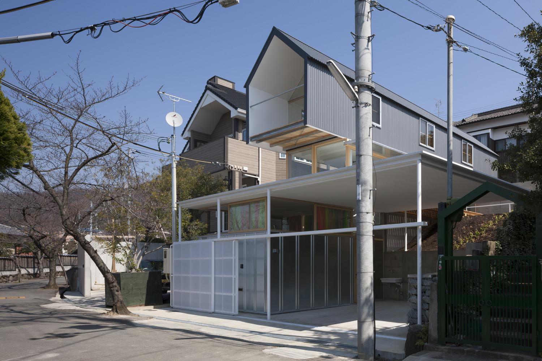architecture japonaise revisiter l ancien pour transcender l habitation pop up urbain. Black Bedroom Furniture Sets. Home Design Ideas